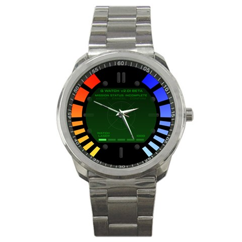 Goldeneye 007 Watch By Rcaz35   Sport Metal Watch   Uxvlcmrea6st   Www Artscow Com Front