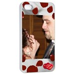I Love You Apple 4/4s Seamless Case White - Apple iPhone 4/4s Seamless Case (White)
