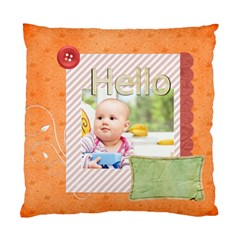 Hello  By Joely   Standard Cushion Case (two Sides)   2g2ii1iy95yk   Www Artscow Com Front