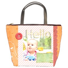 Hello By Joely   Bucket Bag   Llnfcm1kpgdb   Www Artscow Com Front