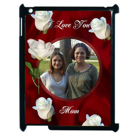 I Love You Mom Apple Ipad 2 Case By Kim Blair   Apple Ipad 2 Case (black)   G9zsaa9x7xs0   Www Artscow Com Front
