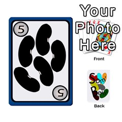 Ace Cards For Som  Beans By Stuart    Playing Cards 54 Designs   He8oq6jxj23t   Www Artscow Com Front - SpadeA