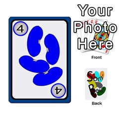 Cards For Som  Beans By Stuart    Playing Cards 54 Designs   He8oq6jxj23t   Www Artscow Com Front - Diamond2