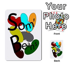 Cards For Som  Beans By Stuart    Playing Cards 54 Designs   He8oq6jxj23t   Www Artscow Com Back