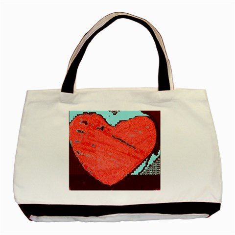 Heart5 By Riksu   Basic Tote Bag   Cennl27s8072   Www Artscow Com Front