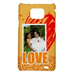 love - Samsung Galaxy S2 i9100 Hardshell Case