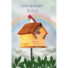 Bird House 5 5 X 8 5 Notebook By Kim Blair   5 5  X 8 5  Notebook   Cepowdvmwepl   Www Artscow Com Front Cover
