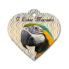 Bandit Heart Dog Tag 2 Sides By Maryanne   Dog Tag Heart (two Sides)   Uqoctfkfjrn6   Www Artscow Com Front
