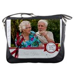 happy new year - Messenger Bag