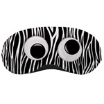 funny, goofy eyes/zebra sleeping mask
