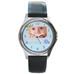 baby boy - Round Metal Watch