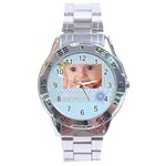 baby boy - Stainless Steel Analogue Watch