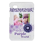 purple world - Samsung Galaxy Tab 7  P1000 Hardshell Case