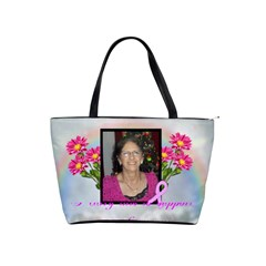 Breast Cancer Shoulder Bag By Kim Blair   Classic Shoulder Handbag   Yrv7d41d6kry   Www Artscow Com Front