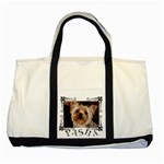 Pasha Bag - Two Tone Tote Bag