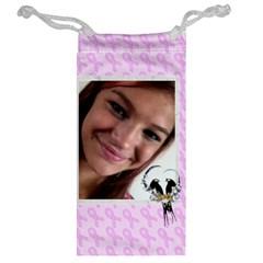 Breast Cancer Jewelry Bag By Kim Blair   Jewelry Bag   7h7rdmfhmx9l   Www Artscow Com Back
