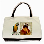 Macaw Classsic Tote Bag ( 2 sides) - Basic Tote Bag (Two Sides)