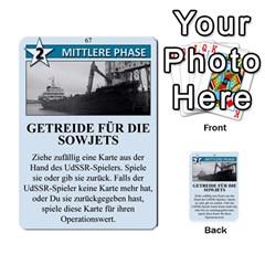 Twilight Struggle German Part 2 By Martin Hoefer   Multi Purpose Cards (rectangle)   86z7az3u0l0i   Www Artscow Com Front 13