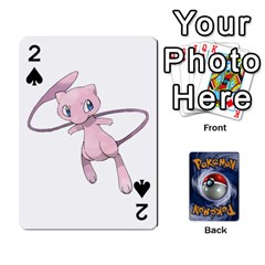 Pokemon By Cheesedork   Playing Cards 54 Designs   Rqeon3f3tcgo   Www Artscow Com Front - Spade2