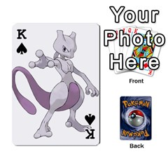 King Pokemon By Cheesedork   Playing Cards 54 Designs   Rqeon3f3tcgo   Www Artscow Com Front - SpadeK