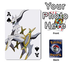 Ace Pokemon By Cheesedork   Playing Cards 54 Designs   Rqeon3f3tcgo   Www Artscow Com Front - SpadeA