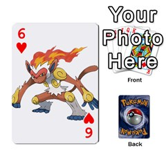 Pokemon By Cheesedork   Playing Cards 54 Designs   Rqeon3f3tcgo   Www Artscow Com Front - Heart6