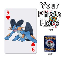 Pokemon By Cheesedork   Playing Cards 54 Designs   Rqeon3f3tcgo   Www Artscow Com Front - Heart9