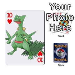 Pokemon By Cheesedork   Playing Cards 54 Designs   Rqeon3f3tcgo   Www Artscow Com Front - Heart10