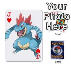 Jack Pokemon By Cheesedork   Playing Cards 54 Designs   Rqeon3f3tcgo   Www Artscow Com Front - HeartJ
