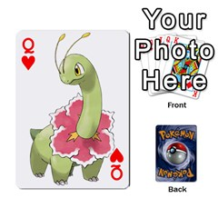 Queen Pokemon By Cheesedork   Playing Cards 54 Designs   Rqeon3f3tcgo   Www Artscow Com Front - HeartQ