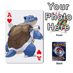 Ace Pokemon By Cheesedork   Playing Cards 54 Designs   Rqeon3f3tcgo   Www Artscow Com Front - HeartA