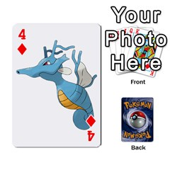 Pokemon By Cheesedork   Playing Cards 54 Designs   Rqeon3f3tcgo   Www Artscow Com Front - Diamond4
