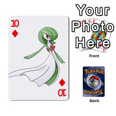 Pokemon By Cheesedork   Playing Cards 54 Designs   Rqeon3f3tcgo   Www Artscow Com Front - Diamond10