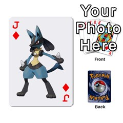 Jack Pokemon By Cheesedork   Playing Cards 54 Designs   Rqeon3f3tcgo   Www Artscow Com Front - DiamondJ
