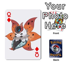 Queen Pokemon By Cheesedork   Playing Cards 54 Designs   Rqeon3f3tcgo   Www Artscow Com Front - DiamondQ