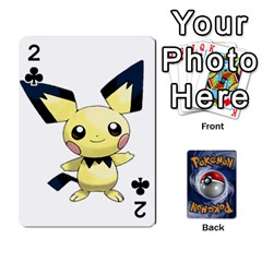Pokemon By Cheesedork   Playing Cards 54 Designs   Rqeon3f3tcgo   Www Artscow Com Front - Club2