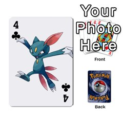 Pokemon By Cheesedork   Playing Cards 54 Designs   Rqeon3f3tcgo   Www Artscow Com Front - Club4