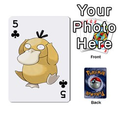Pokemon By Cheesedork   Playing Cards 54 Designs   Rqeon3f3tcgo   Www Artscow Com Front - Club5