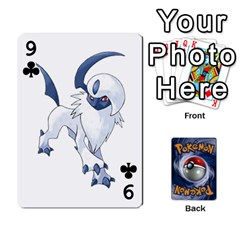 Pokemon By Cheesedork   Playing Cards 54 Designs   Rqeon3f3tcgo   Www Artscow Com Front - Club9