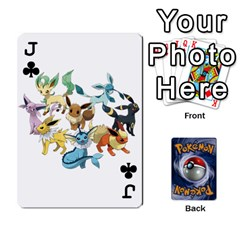 Jack Pokemon By Cheesedork   Playing Cards 54 Designs   Rqeon3f3tcgo   Www Artscow Com Front - ClubJ