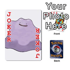 Pokemon By Cheesedork   Playing Cards 54 Designs   Rqeon3f3tcgo   Www Artscow Com Front - Joker2