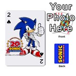 Sonic - Playing Cards 54 Designs