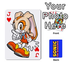Jack Sonic By Cheesedork   Playing Cards 54 Designs   3d234280gtve   Www Artscow Com Front - HeartJ