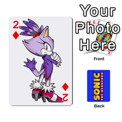 Sonic By Cheesedork   Playing Cards 54 Designs   3d234280gtve   Www Artscow Com Front - Diamond2