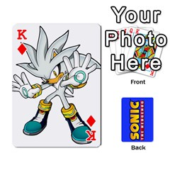 King Sonic By Cheesedork   Playing Cards 54 Designs   3d234280gtve   Www Artscow Com Front - DiamondK