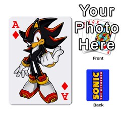 Ace Sonic By Cheesedork   Playing Cards 54 Designs   3d234280gtve   Www Artscow Com Front - DiamondA