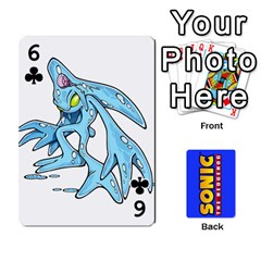 Sonic By Cheesedork   Playing Cards 54 Designs   3d234280gtve   Www Artscow Com Front - Club6