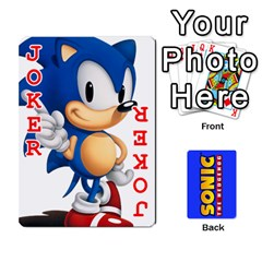 Sonic By Cheesedork   Playing Cards 54 Designs   3d234280gtve   Www Artscow Com Front - Joker2