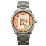 hello - Sport Metal Watch