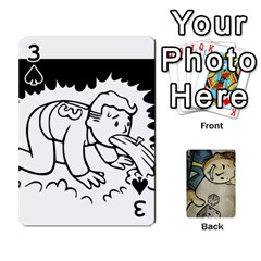 Falloutdeck By Brianna   Playing Cards 54 Designs   8ez5c41iwcr1   Www Artscow Com Front - Spade3